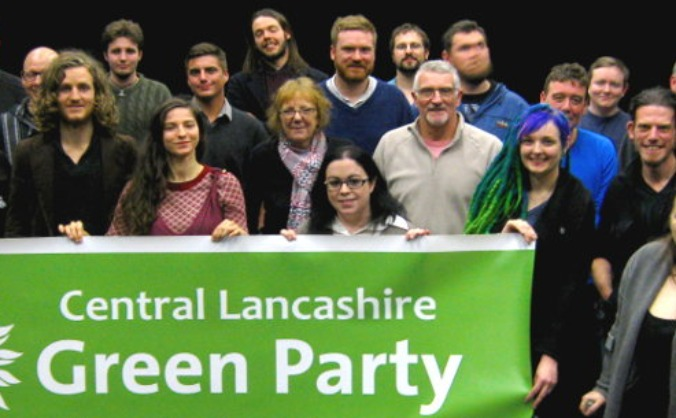 Central Lancashire Green Party - 2015 Campaign