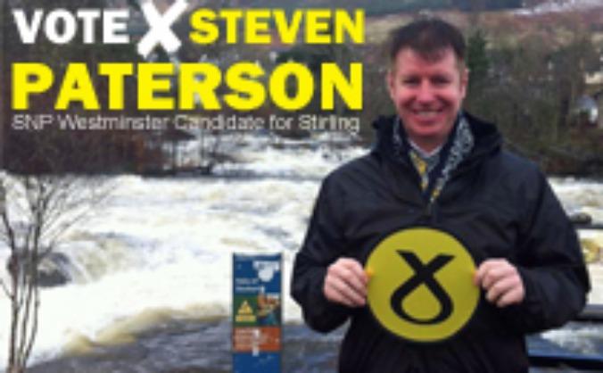 Steven Paterson SNP for Stirling