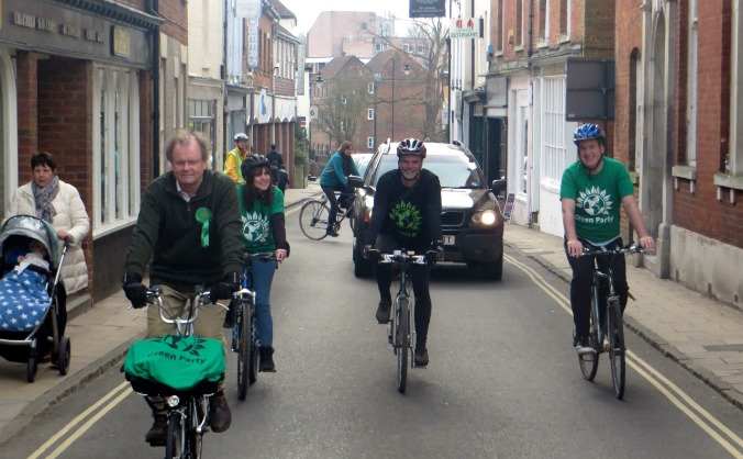 Romsey and Southampton North Greens
