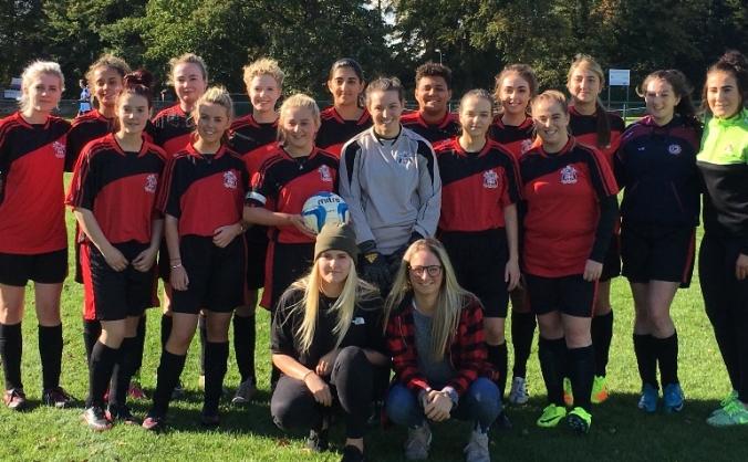 Liverpool Hope Women's Football Tour