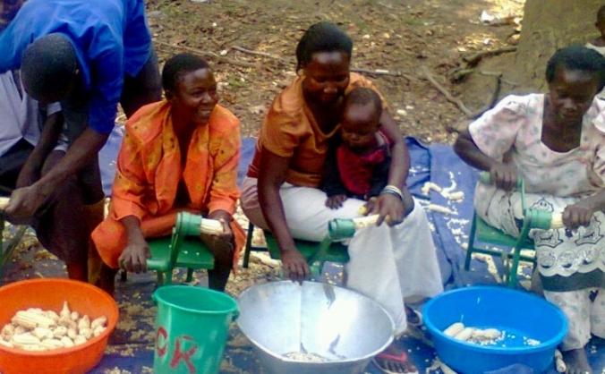 Solar powering women subsistence farmers in Uganda