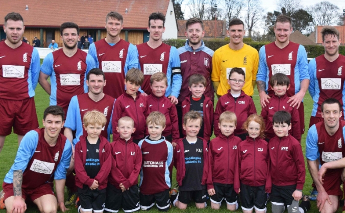 Haddington Athletic 2009s Football Team