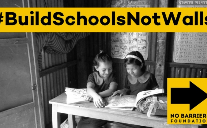 The No Barriers Foundation - #BuildSchoolsNotWalls
