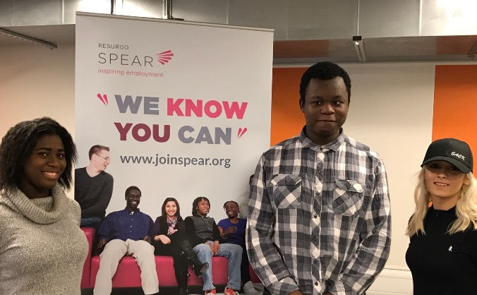 Disadvantaged young people + Spear coaching = Jobs
