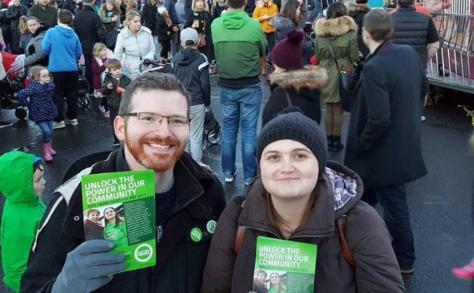 Help elect East Ren's first Green Councillors