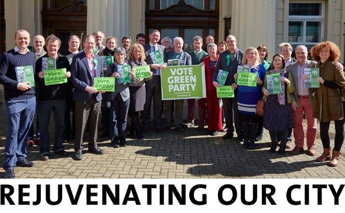 Re-elect Green councillors in Brighton & Hove