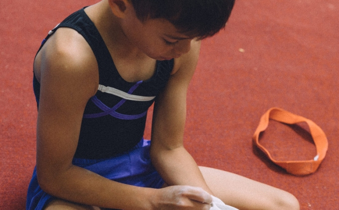 Helping a young gymnast to go to Bulgaria
