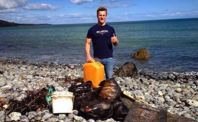 Local Lizard Beach Clean 2017