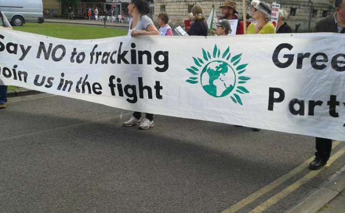 No Fracking Way Walk