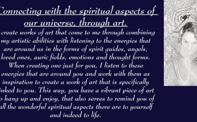 Mind Body Soul Psychic Art Stall