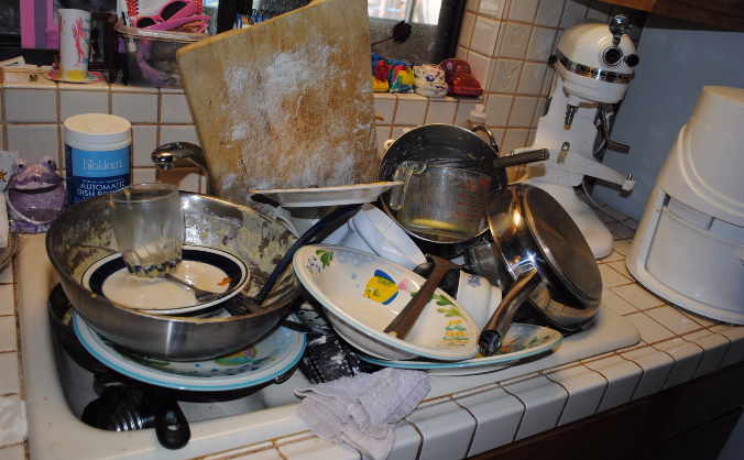 Crowdfunder needs a dishwasher