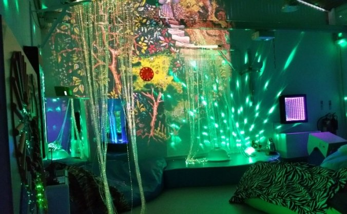 Stunning,special,stimulating,sensory studio needed