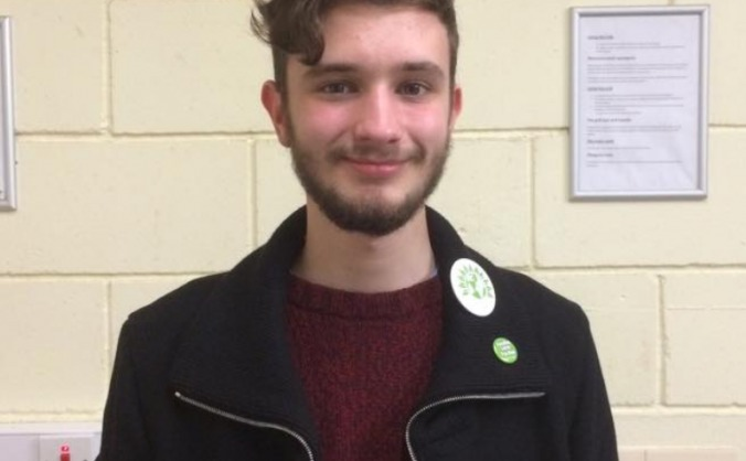 Fund the Newcastle-Under-Lyme Green candidate