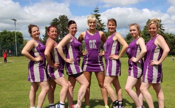Raiders netball club #neednewdresses
