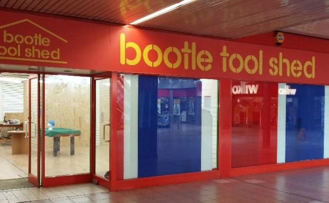Bootle Tool Shed