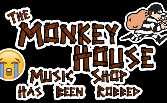 Robbery at The Monkey House Music Shop