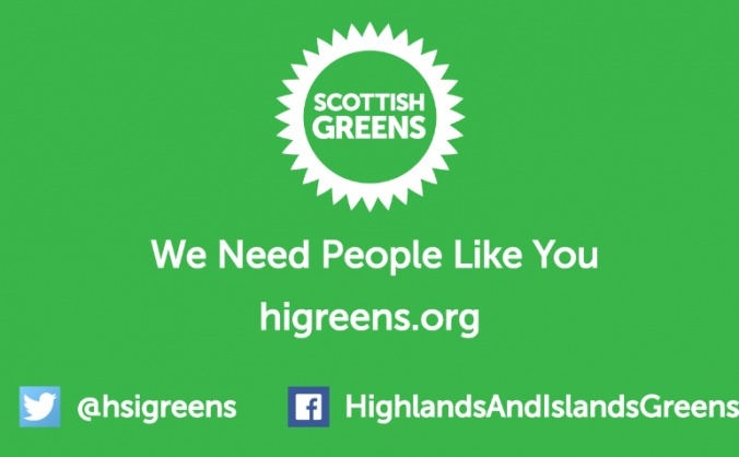 Help Turn the Highlands Green in 2015