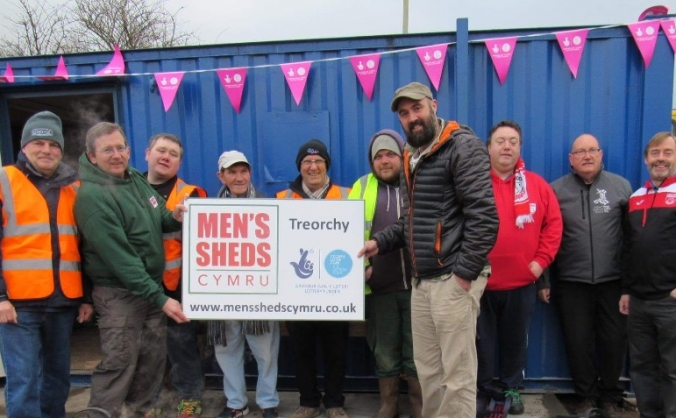 Mens shed treorchy caemawr allotment