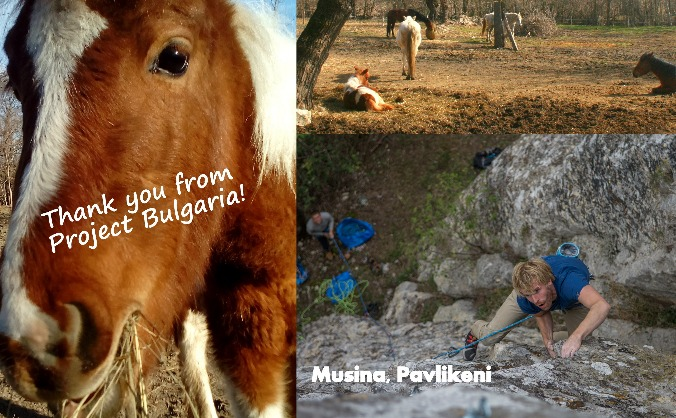 Rock Climbing & Horse riding/rescue Bulgaria
