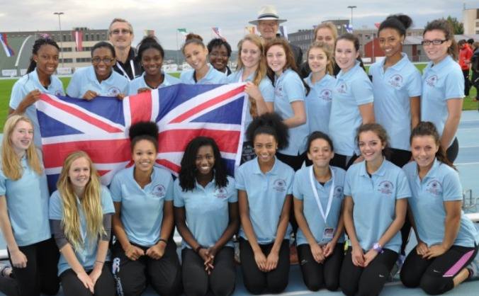 Blackheath & Bromley ladies GB team Istanbul 2015