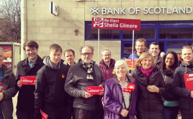 Help Re-Elect Sheila Gilmore in Edinburgh East