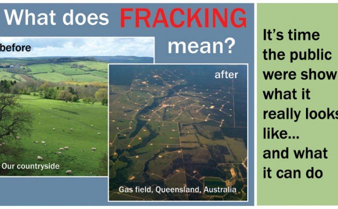Realities of Fracking Leaflet