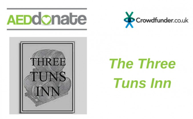 AED for The Three Tuns Inn