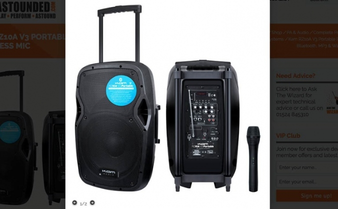 Protest Portable PA System
