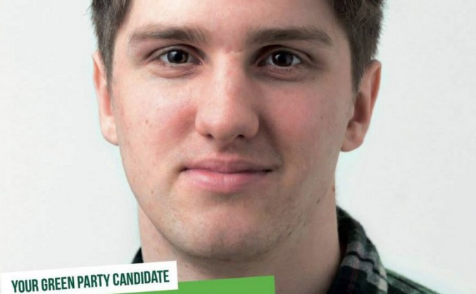 Dom Ellis - Green Party Candidate