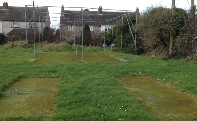 St Minver Cricket Club - New training nets