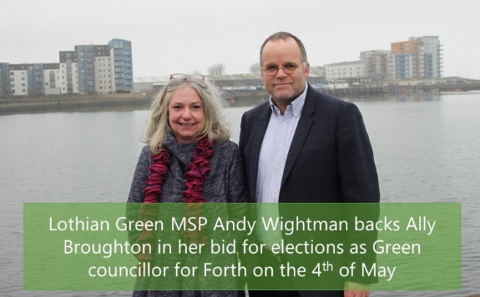 Elect Ally Broughton for Forth