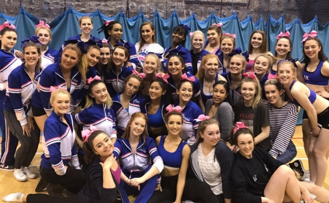 Arts Royals Cheerleading Fundraising