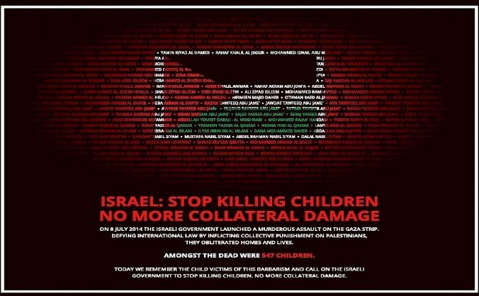 Remember the Children of Gaza