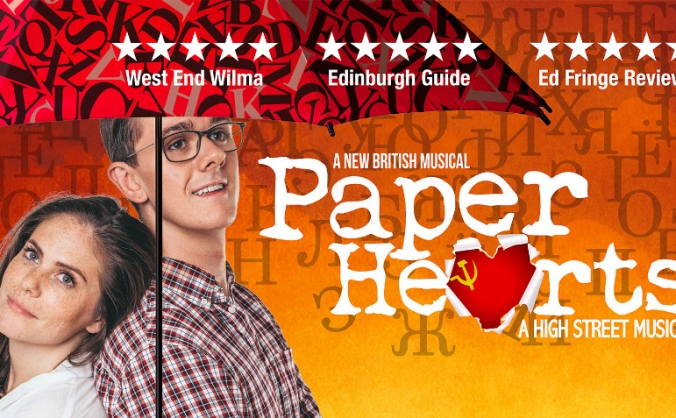 Paper Hearts - The Musical Tour