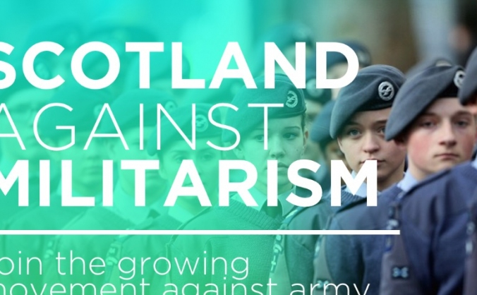 Fund Scotland Against Militarism