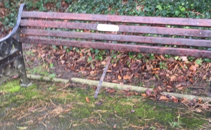 Oak Meadow Cheadle Hulme needs some new benches
