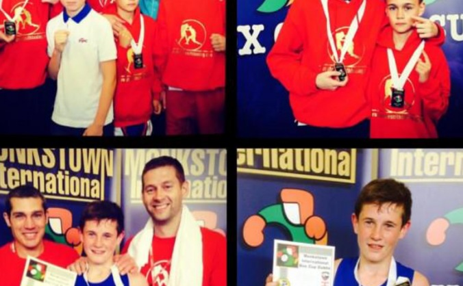 School Boy Boxers International Opportunity
