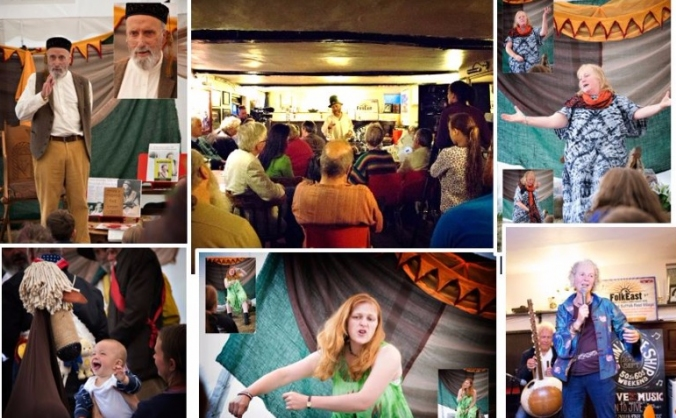 The East Anglian Storytelling Festival 2016