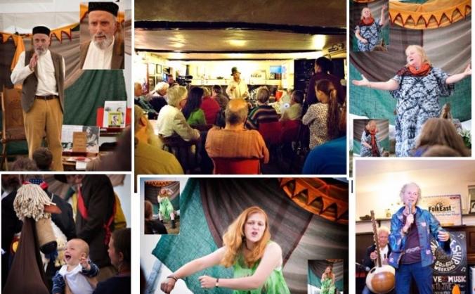 The East Anglian Storytelling Festival 2016