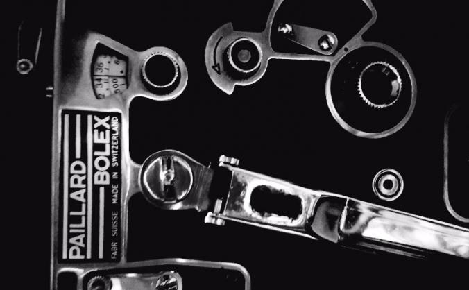 16mm black and white bolex film