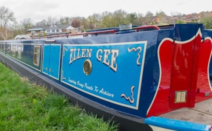 All Aboard the Ellen Gee