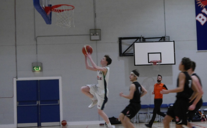 Finlay McKie U15 Basketball Scotland Summer Trip