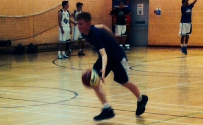 Cade Wilson Scotland U15 Basketball
