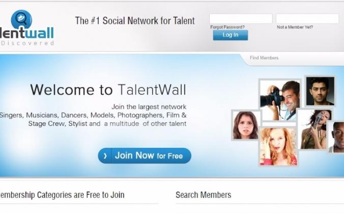TalentWall Social Network