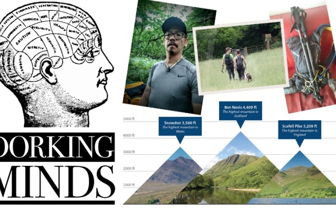 Three Peaks for Dorking Minds