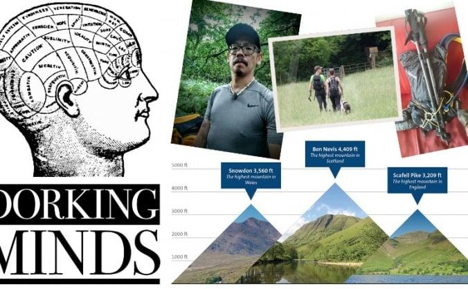 Three Peaks for Dorking Minds