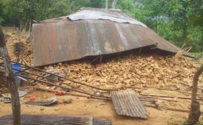 Nepal Earthquake 2015:Kakani - One house at a time
