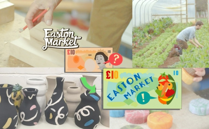 Get a voucher for Easton Market & help the set-up!
