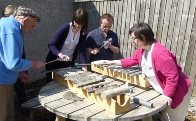 The Lithophone Project