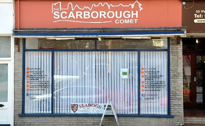 Be a part of The Scarborough Comet
